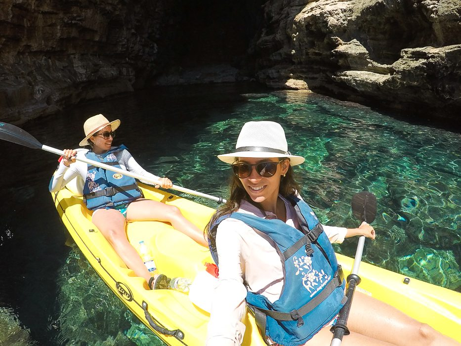 Sea kayaking in Dubrovnik